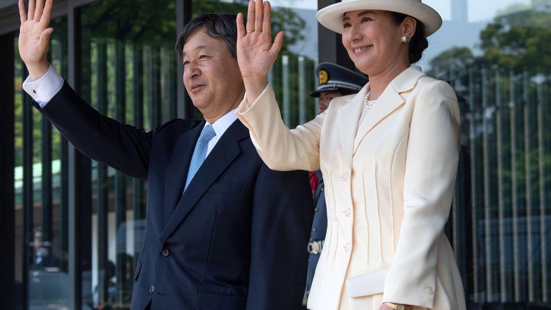 Los nuevos emperadores de Japón. (Reuters)