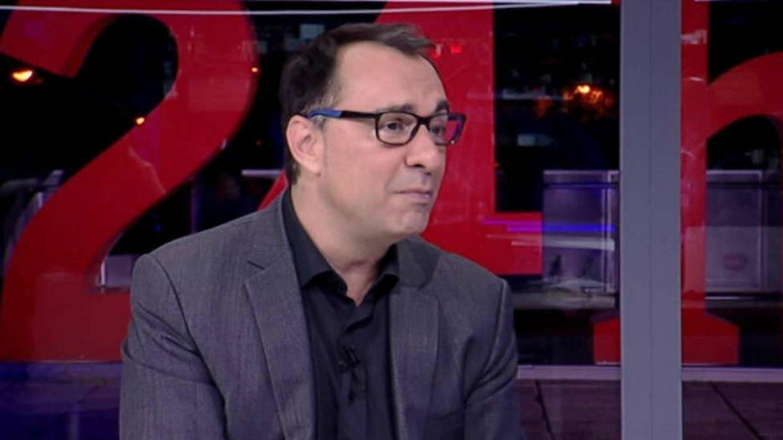 Julio César Pérez Herrero, en una tertulia. (RTVE)