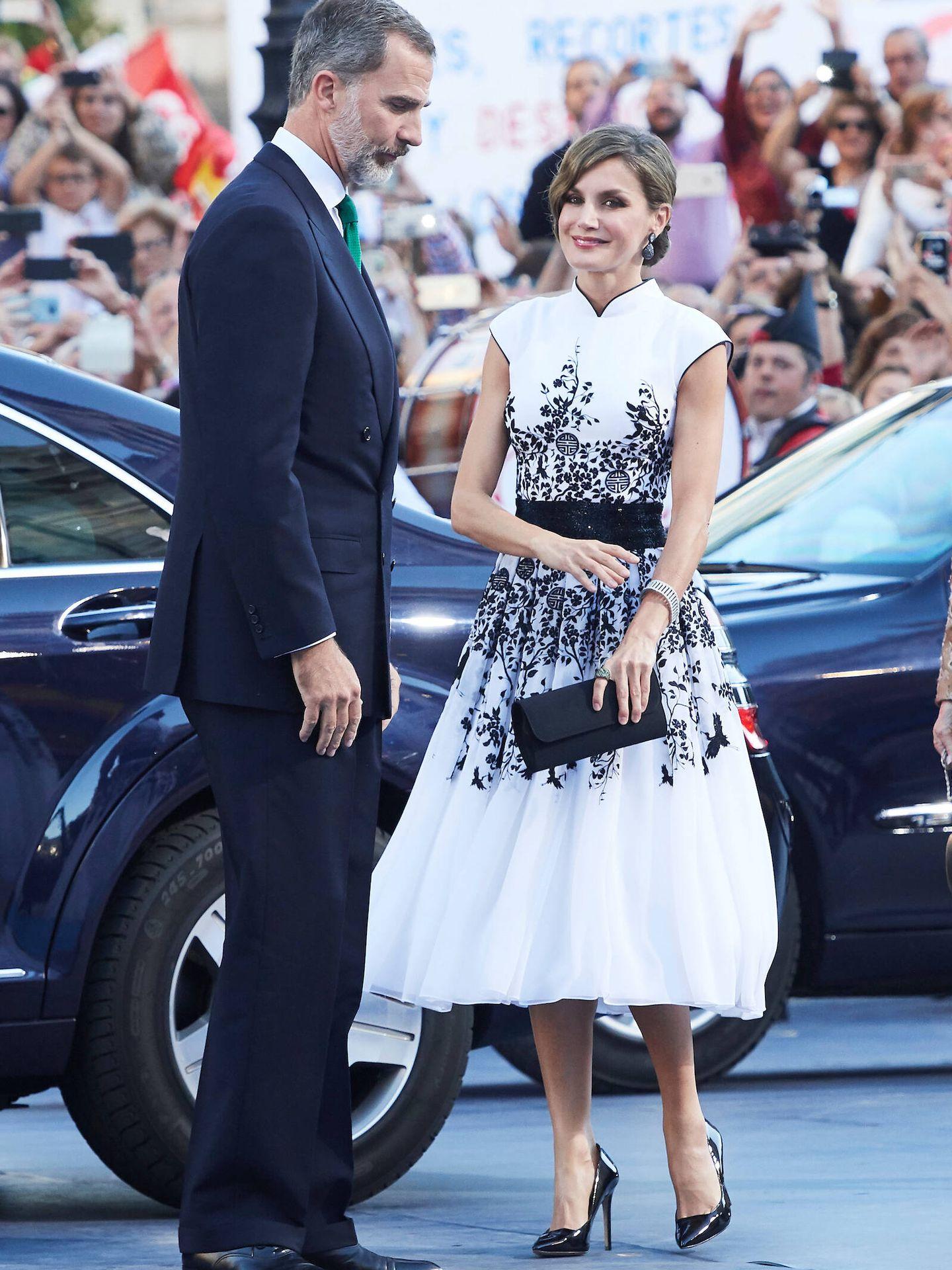 Letizia, en los Premios Princesa de Asturias 2017. (LP)