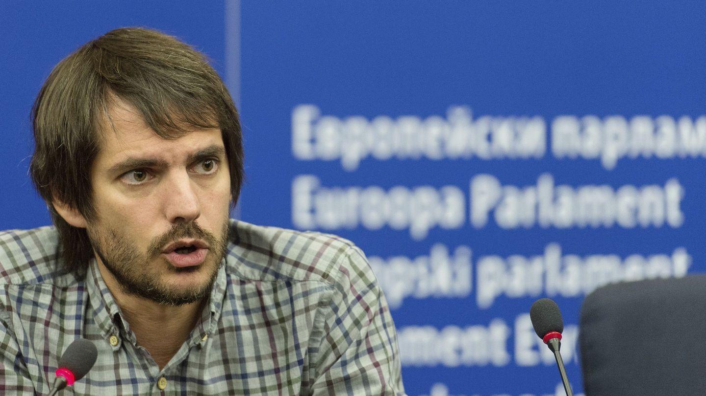Ernest Urtasun, en el Parlamento Europeo. (EFE)