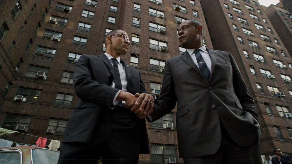 Foto: Los protagonistas de 'El Padrino de Harlem'. (HBO España)