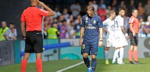 Post de El motivo de la expulsión de Luka Modric en el Celta-Real Madrid