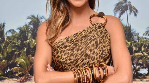 Lara Álvarez presenta 'Supervivientes' con su look más salvaje