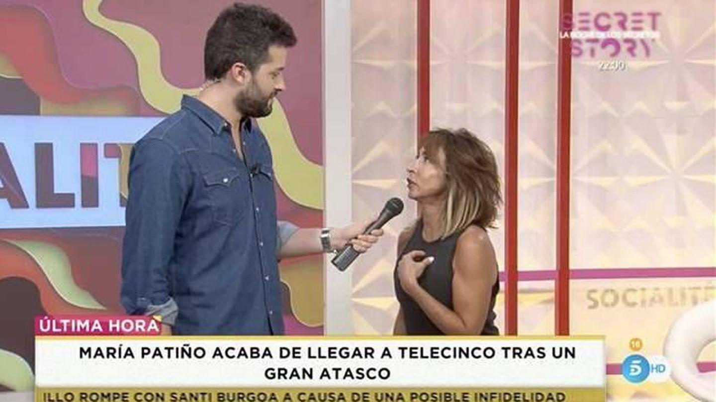 Javier de Hoyos y María Patiño. (Telecinco).