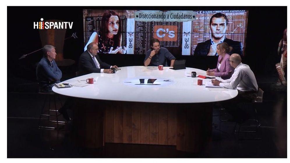 Foto: Pablo Iglesias en su programa de Hispan TV.