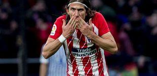 Post de Filipe Luis rompe la tranquilidad en el Atlético y le crea un problema al Cholo