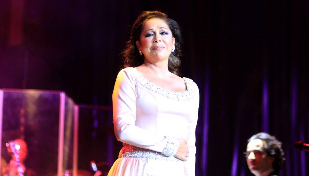 Foto: Isabel Pantoja en uno de sus conciertos. (Gtres)