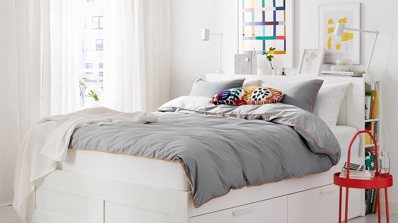 Camas de Ikea para dormitorios pequeños y ordenados. (Cortesía)