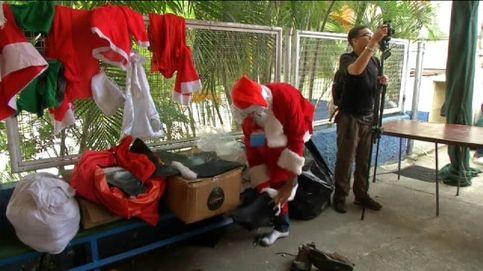 Papá Noel se adelanta en algunos puntos del planeta para los más necesitados