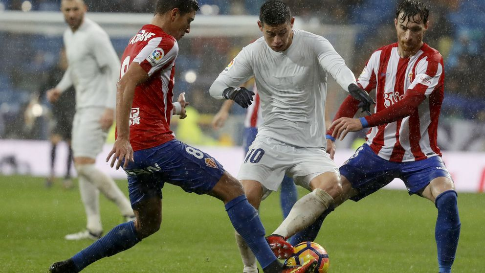 James Rodríguez sigue sin tomar buena nota de su amigo Cristiano Ronaldo