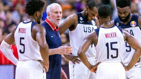 Estados Unidos toca fondo en la final del desencanto contra Serbia (94-89)