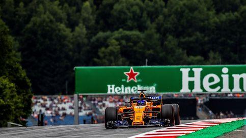 La clasificación del GP de Austria en directo: Alonso y Sainz quieren la Q3