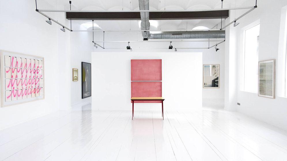 Foto: Imagen de la galería de Miquel Alzueta en el corazón de Barcelona.