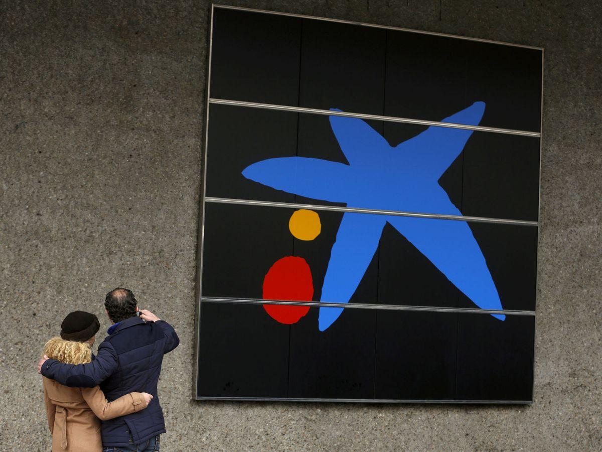 Foto: El logo de CaixaBank (Reuters)