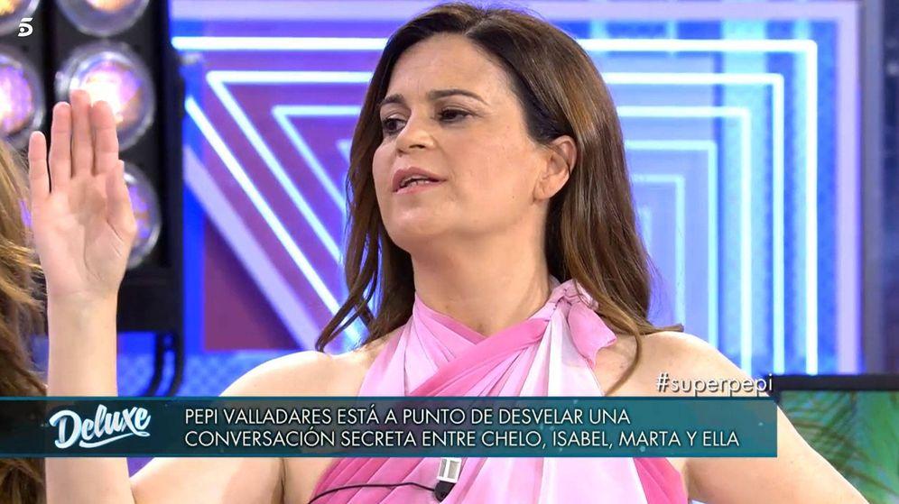 Foto: Pepi Valladares, en 'Sábado Deluxe'. (Telecinco)