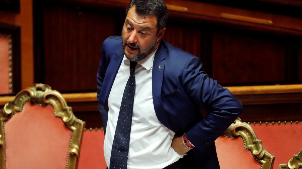 Foto: El vicepresidente Matteo Salvini. (Reuters)
