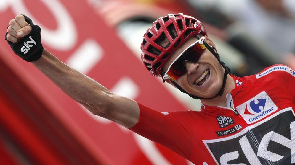 Foto: Froome está sentenciando la Vuelta cada día. (EFE)