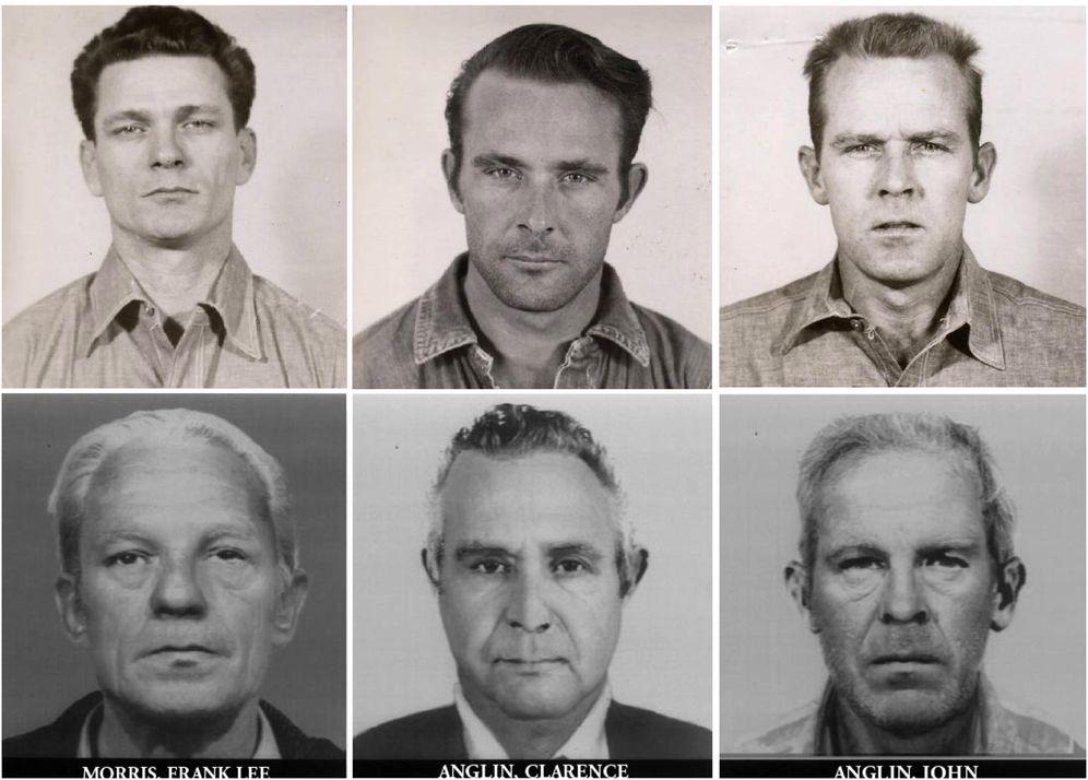 Foto: Los tres fugados de Alcatraz y cuál sería su aspecto en la actualidad. (Reuters)
