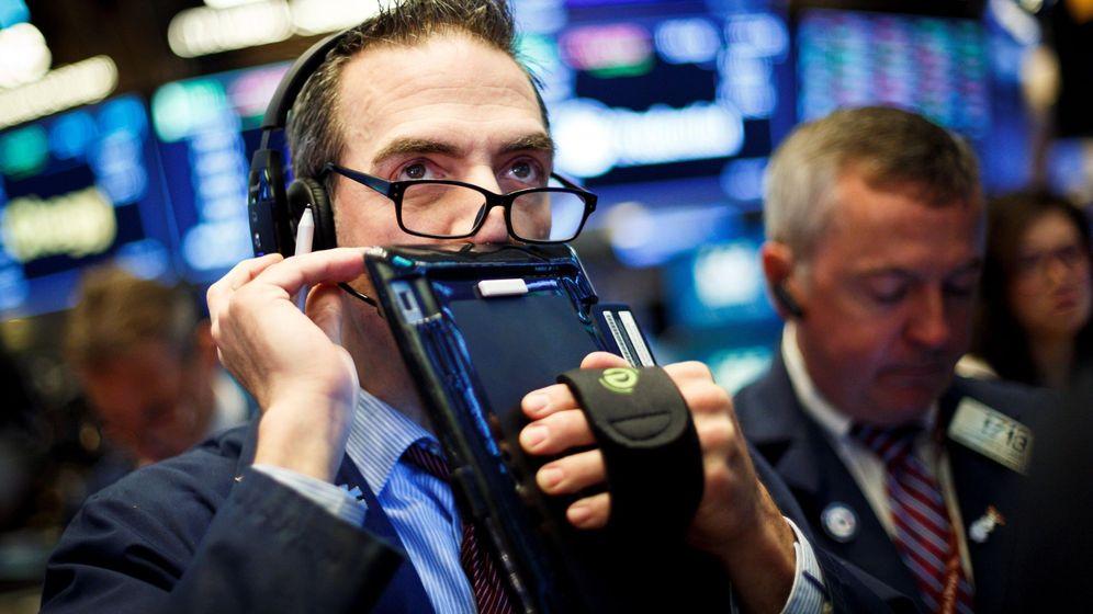 Foto: Un trader en la bolsa de Nueva York. (EFE)