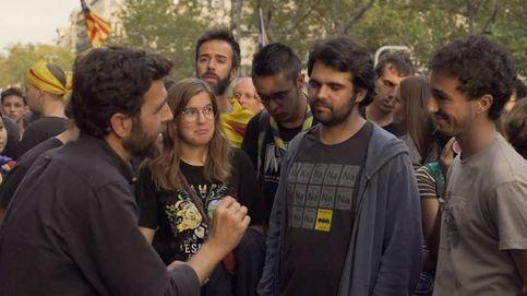 'Salvados': la respuesta de Gonzo a un cabreado joven independentista