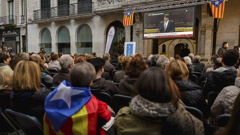 Girona colocará una pantalla gigante para ver la comparecencia de Puigdemont