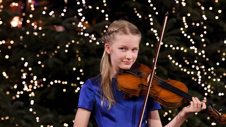 La princesa Eleonore, al violín. (Cordon Press)