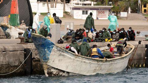 La llegada de inmigrantes irregulares sube un 29% en 2020, el 757% en Canarias