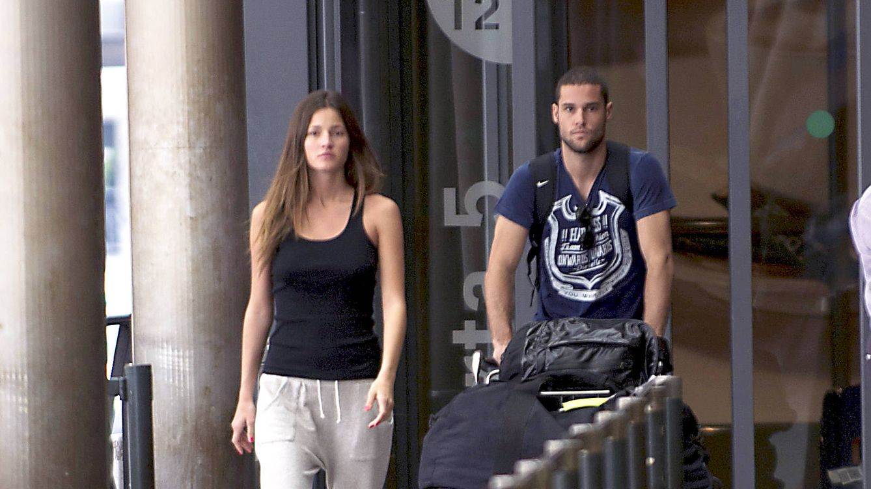 Mario Suárez y Malena Costa, mudanza a China con un pan bajo el brazo