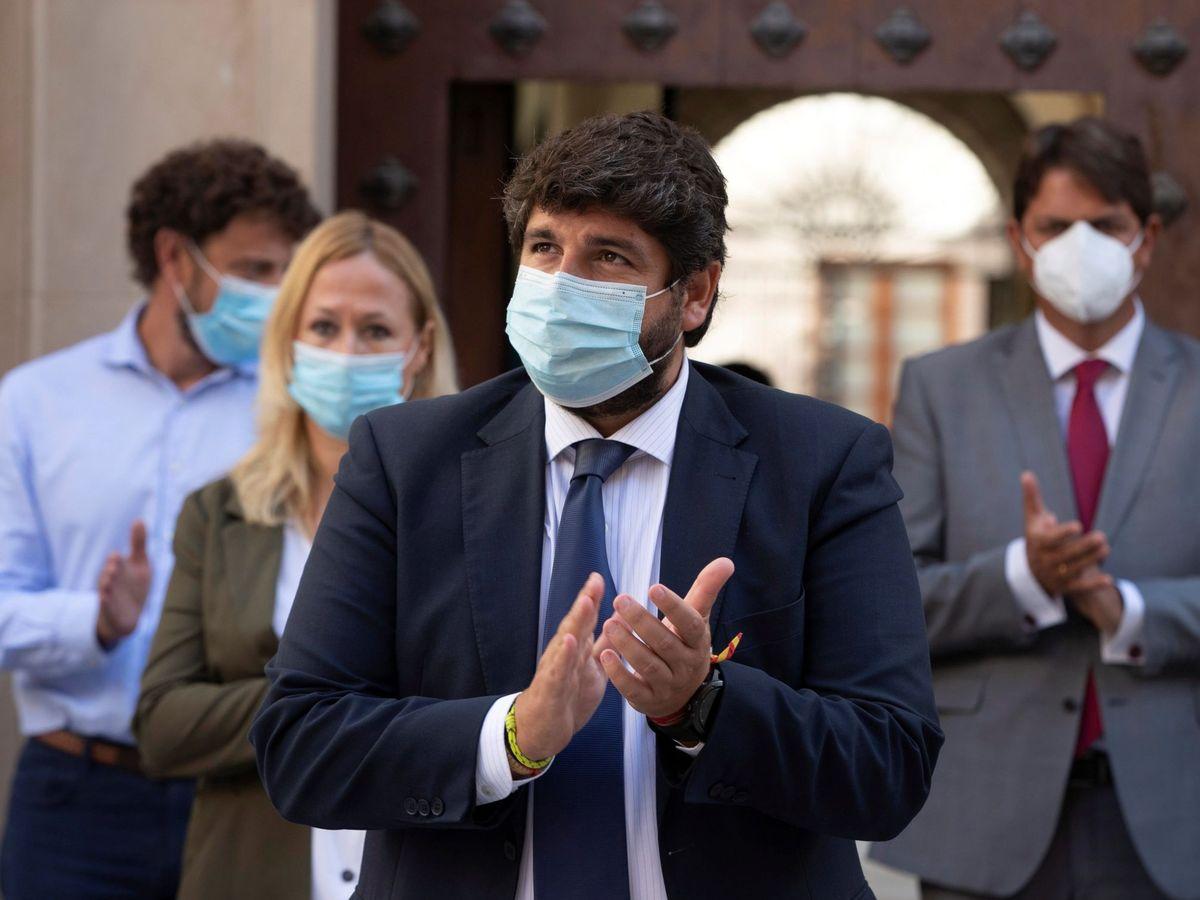Foto: El presidente de la Comunidad de Murcia Fernando López Mira. (EFE)