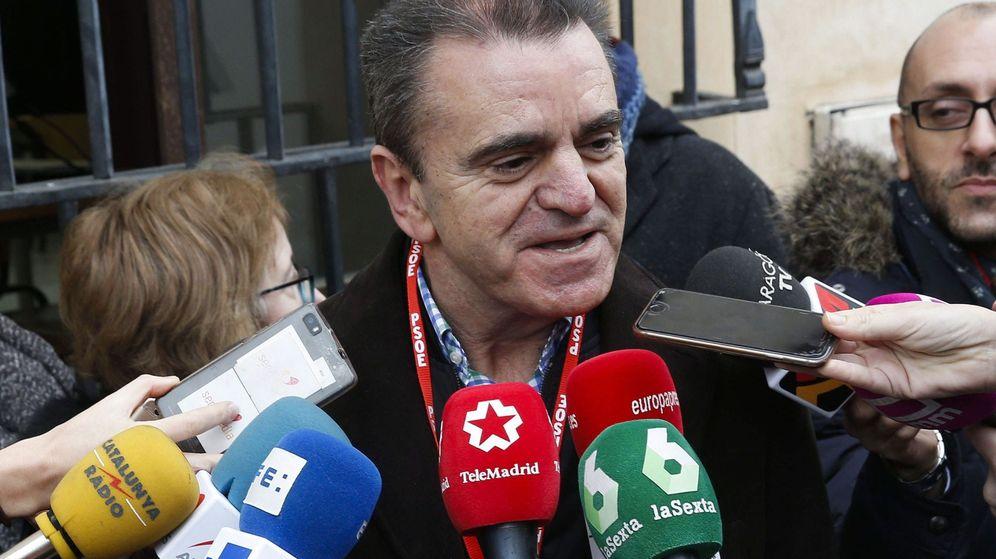 Foto: El secretario general del PSOE-M, José Manuel Franco. (EFE)