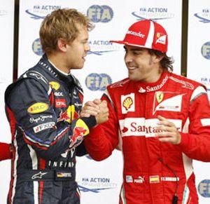 La gran oportunidad de Fernando Alonso se convierte en una lotería bajo el agua