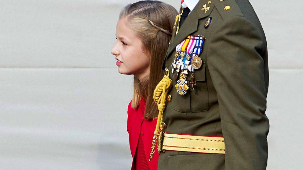 La soldado Leonor de Borbón, la gran incógnita de la heredera