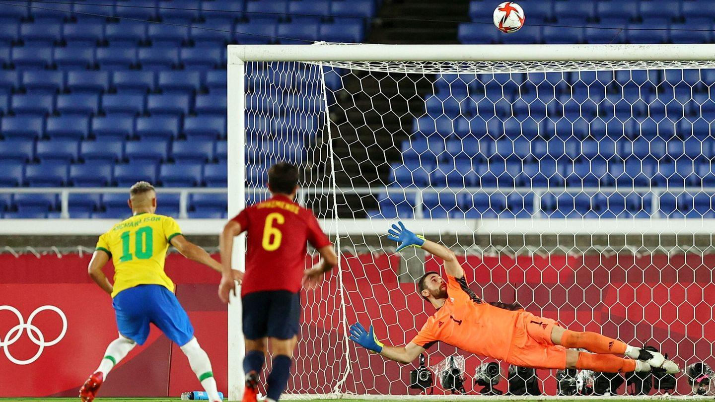 Richarlison malgastó el penalti. (Reuters)