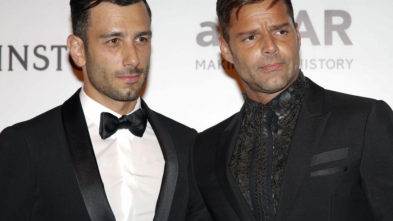 Foto: Ricky Martin junto a su novio, Jwan Yosef, en la gala amfAR (Gtres)