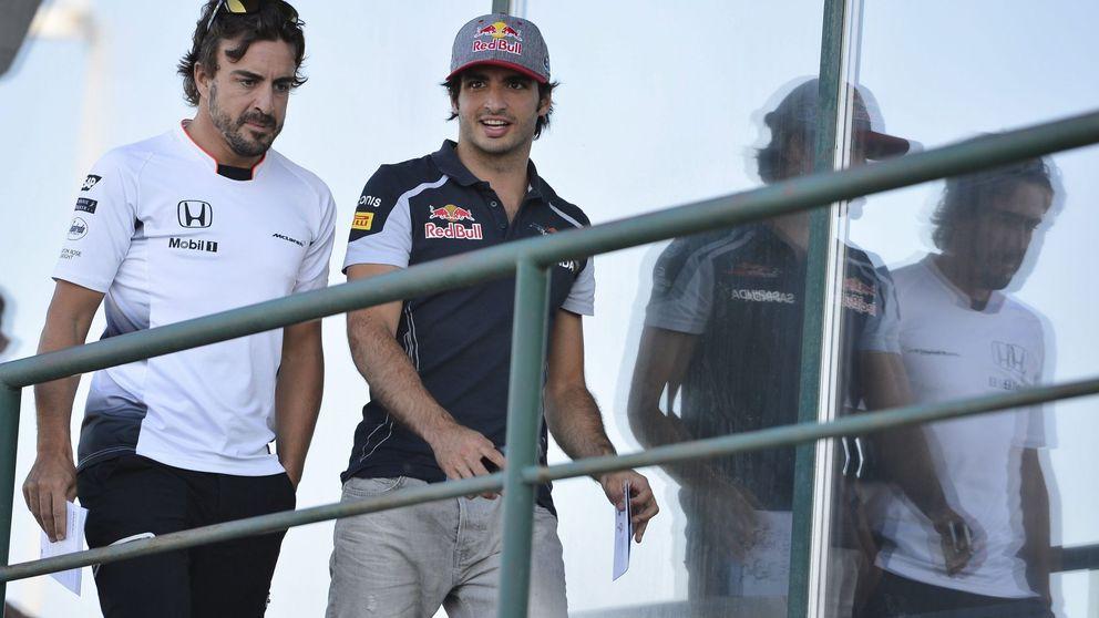 Carlos Sainz no pudo adelantar: Alonso, como siempre, ha sido un reloj