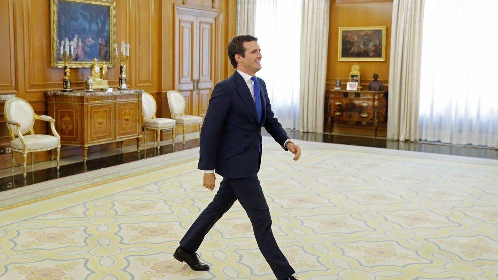 Casado pide a Sánchez que busque estabilidad y admite que UPN se abstenga
