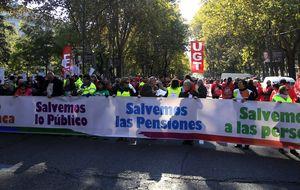 Miles de personas se manifiestan en Madrid en favor de lo público