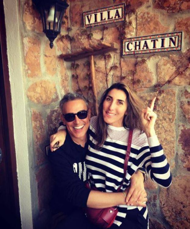 Foto: Kiko Hernández y Paz Padilla en una imagen de Instagram.