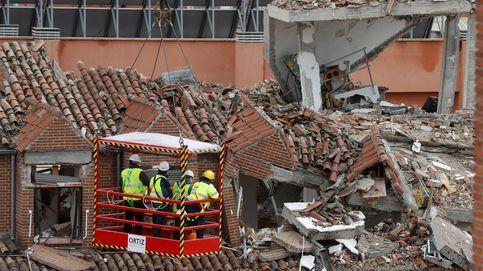 Continúan los efectos de la explosión de gas en Madrid