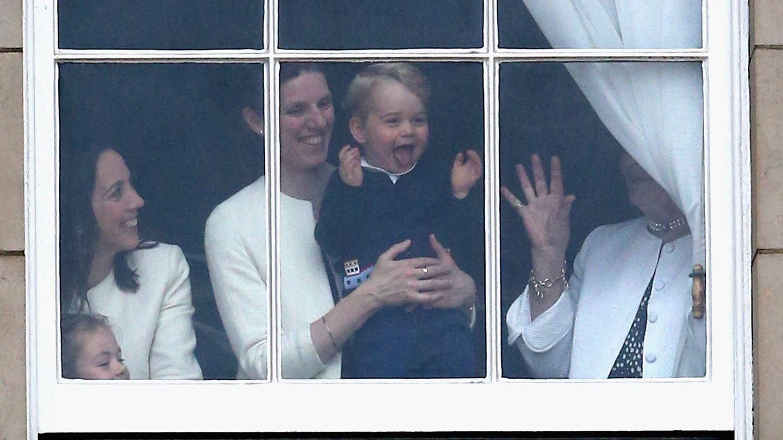 María Teresa Turrión con el príncipe George, en una imagen de archivo. (Getty)