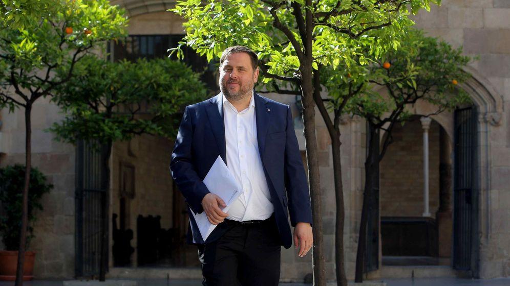 Foto: El vicepresidente del Govern y conseller de Economía, Oriol Junqueras. (EFE)