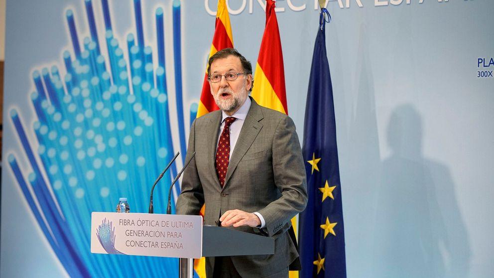 Rajoy anuncia que España cumplió el objetivo de déficit en 2017 con un 3,07%