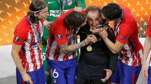 Cómo alguno estaba esperando al Profe Ortega (Atlético de Madrid) para atizarle