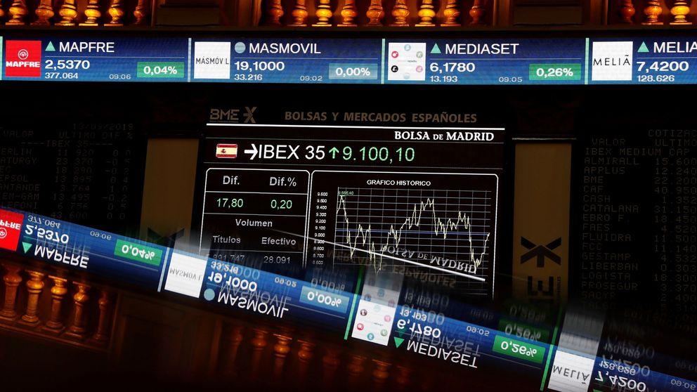 El Ibex vuelve a caer con el miedo a una crisis global sobrevolando el parqué