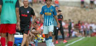 Post de La desgraciada lesión de Joao Félix en su debut con el Atlético de Madrid