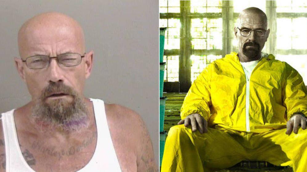 Foto: El protagonista de Breaking Bad y el hombre a la fuga son prácticamente idénticos