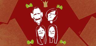 Post de La intrahistoria de las felicitaciones navideñas de la familia real