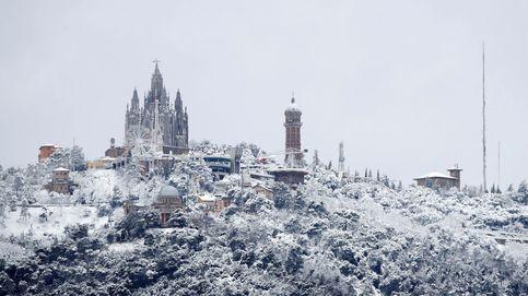 La primavera llega a Cataluña con nieve