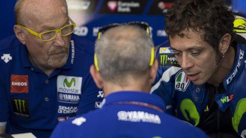 Valentino Rossi acusa a Aleix Espargaró de mandarle a tomar por c...