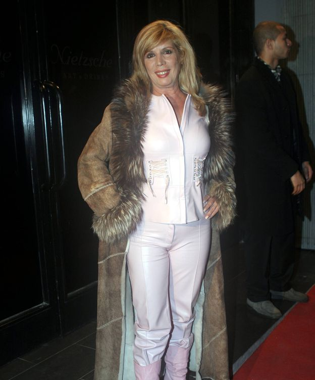 Foto: María Jiménez en una imagen de archivo.(CORDON)